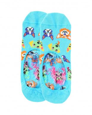 64/98/98/68/64 Banana Low Sock/Leopard Low Sock/Happy Low Sock/Big Dot Liner Sock/Funny Dog Liner Sockを見る