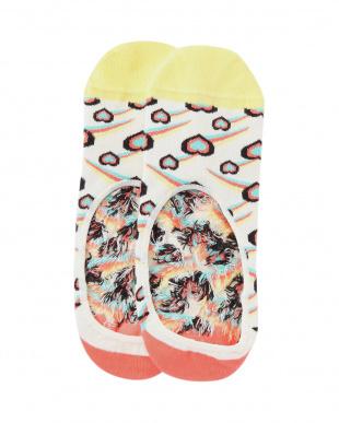 98/98/68/35/98 Flamingo Low Sock/Sunny Smile Low Sock/Watermelon Liner Sock/Shooting Heart Liner Sock/Athletic_Flame Low Sockを見る
