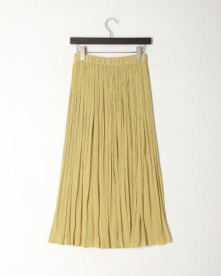 イエロー カッセンヨウリュウギャザースカートを見る