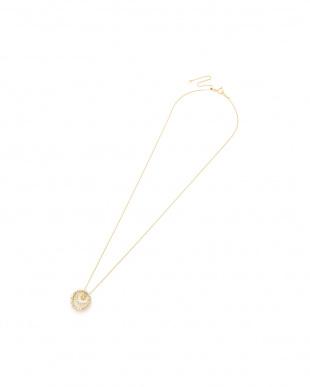 イエローゴールド K18YG H&Cダイヤモンド 0.45ct デザインネックレスを見る