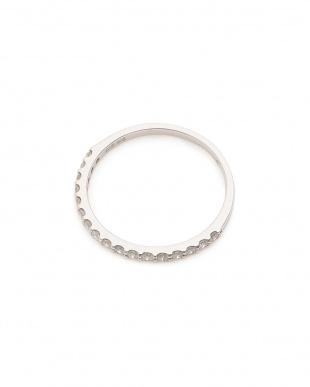 ホワイトゴールド K18WG ダイヤモンド(0.25ct) リングを見る
