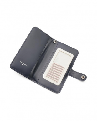 ネイビー ホースレザー ブック型 iPhoneケース iPhone11/12 Pro・12用を見る