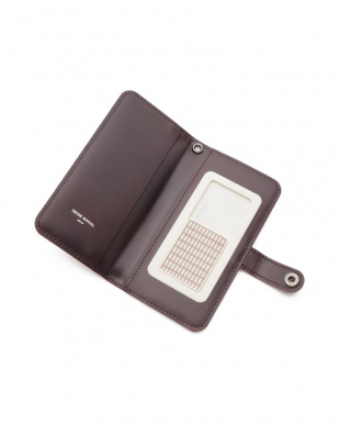 ワイン ホースレザー ブック型 iPhoneケース iPhone11/12 Pro・12用を見る
