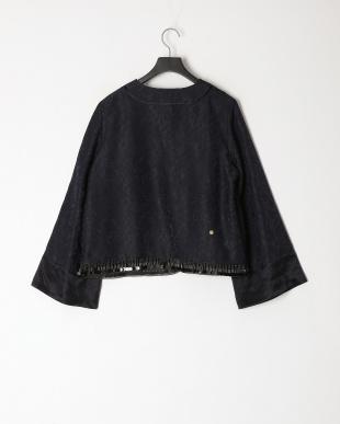 navy 花刺繍チャイナジャケットを見る