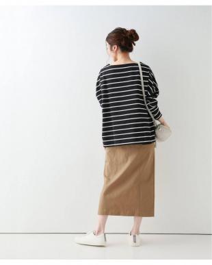キャメル #チノAラインスカート◆を見る