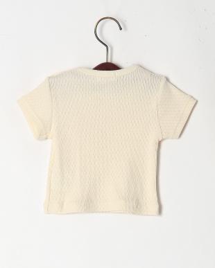 生成り オーガニックコットン半袖Tシャツを見る