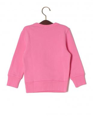 ピンク 長袖トップを見る
