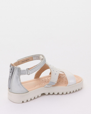 WHITE/SILVER SANDALSを見る