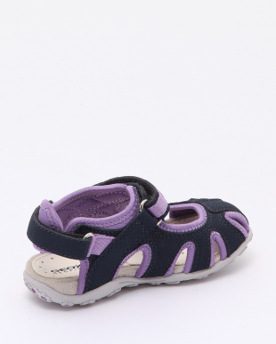 NAVY/LILAC SANDALSを見る