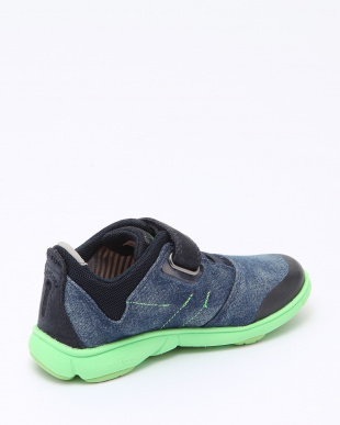 BLUE/FLUO GREEN SNEAKERSを見る