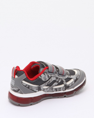 GREY/RED SNEAKERSを見る