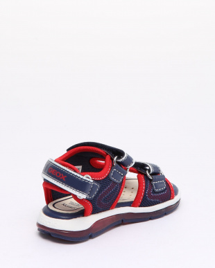 NAVY/RED SANDALSを見る