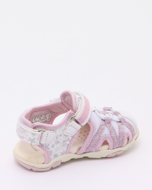 WHITE/PINK SANDALSを見る
