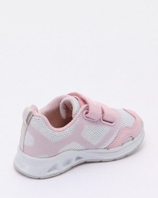 WHITE/LT PINK SNEAKERSを見る