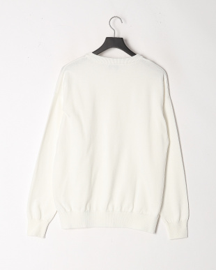WHITE ALL TIME KNIT CREWを見る