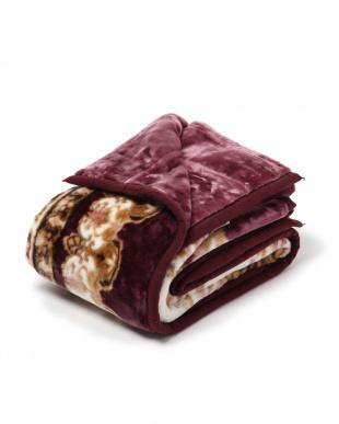 ピンク 西川 洗える2枚合わせ毛布 カシャーン シングルを見る