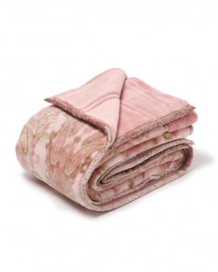 ピンク 西川 洗える2枚合わせ毛布 日本製 洗える シングルを見る