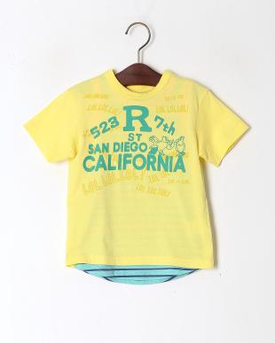 イエロー 2PTシャツを見る