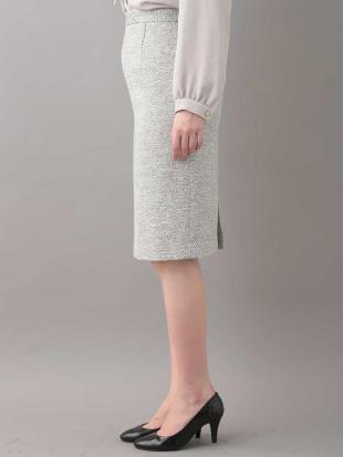 グレー 【セットアップ対応】ミックスカラータイトスカート OFUONを見る