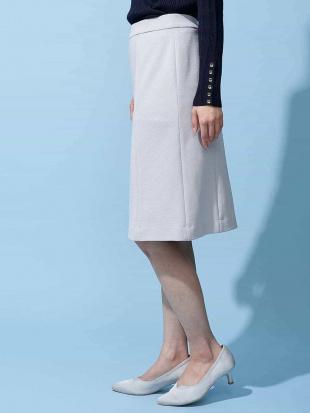 ライトグレー 【洗える/セットアップ対応】ベーシックタイトスカート OFUONを見る
