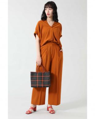 オレンジ スキッパーシャツ R/B(オリジナル)を見る