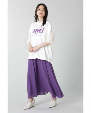 ホワイト デザインロゴTシャツ R/B(バイイング)を見る
