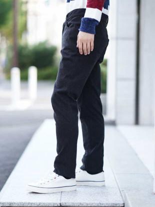 ネイビー パンツ(WONDER SHAPE 起毛) MK MICHEL KLEIN hommeを見る