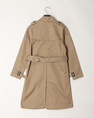 Beige Twill  Trench Coatを見る