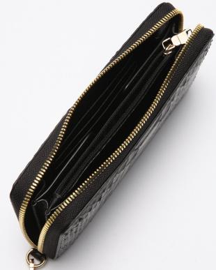 ブラック ダイヤモンドパイソンラウンド長財布を見る