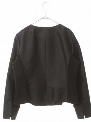 ブラック タフタジャケット HIROKO BIS GRANDEを見る
