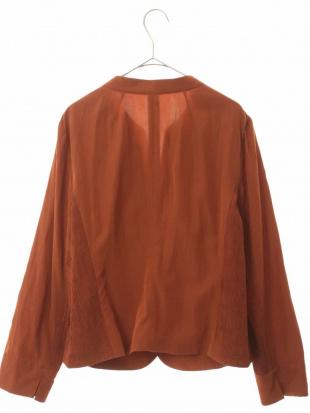 グリーン シャーリングショートジャケット HIROKO BIS GRANDEを見る