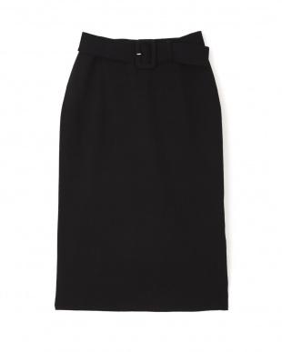 ブラック ベルト付きセットアップタイトスカート PINKY & DIANNEを見る