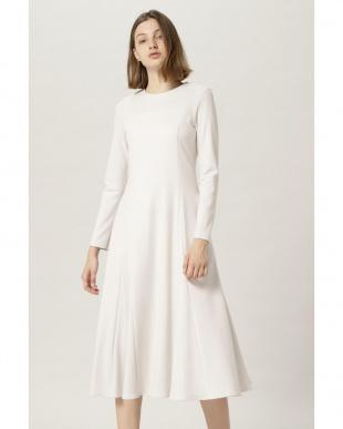 グレー フレアスカートドレス FLOMLを見る