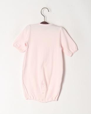 ピンク スムース変型ドレスオールを見る
