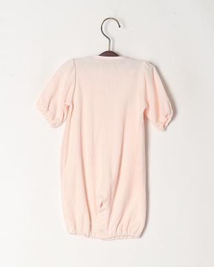 ピンク パイル変型ドレスオールを見る