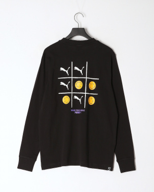 PUMA BLACK PUMA CLUB LS Tシャツを見る