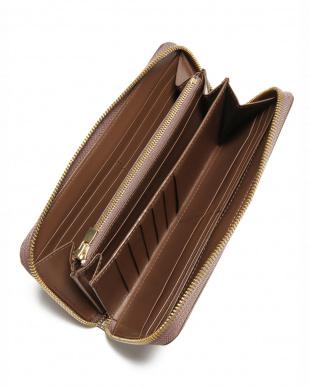 オーク クリスペルカーフ ラウンド長財布を見る