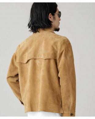 L.ブラウン1 別注suede short jacket ナノ・ユニバースメンズ(バイイング)を見る