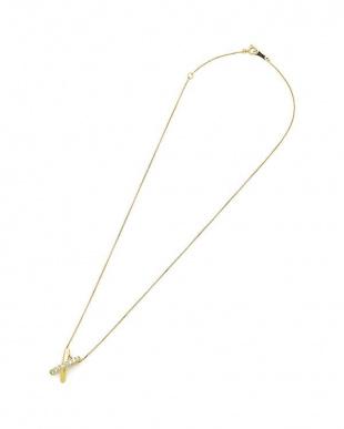 イエローゴールド K18YG ダイヤモンド 0.20ct ネックレスを見る