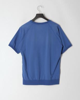 ブルー 02192AH04 KEEP YOURSELF pt 半袖プルオーバーを見る
