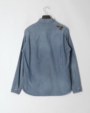 Lインディゴ (USED淡色) 02201AH11 LONG LIVE ROCK ワークシャツを見る