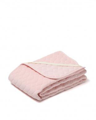 ピンク 年間使える パイルパッドシーツ セミダブルを見る