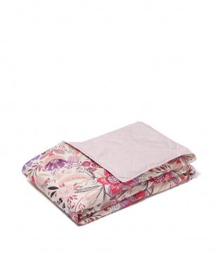 ピンク ダウン70% 洗える羽毛肌掛けふとん(セミダブル) 洗濯ネット付を見る