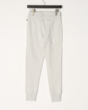 COLD LIGHT GREY MELANGE WOMEN'S LONG KNiTTED PANTSを見る