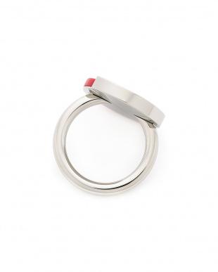 シルバー×レッドコーラル RING SPICY SST PO RED CORAL STONE コンビデザイン リングを見る