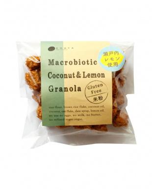 CHAYAマクロビ「シーズナル焼菓子・米粉のココナッツ&レモングラノーラ」セットを見る