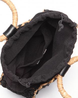 ブラック BANCUAN*ABACA ROUND TOTEを見る