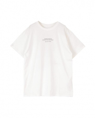 オフホワイト フォトプリントオーバーサイズTシャツを見る