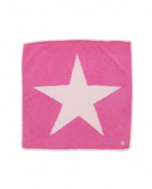 pink raspberry/pink キャップ付 スター ベビーブランケットを見る