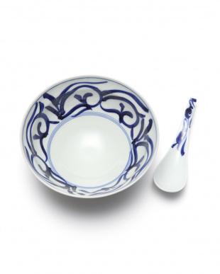敏唐草 麺鉢レンゲ付を見る
